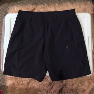 32 Degrees Cool Navy Blue Ladies Cargo Shorts - XS